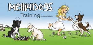 Logo Melli4Dogs Training