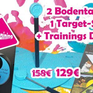 Trainings-DVD´s + 2er Set Bodentargets mit Stick