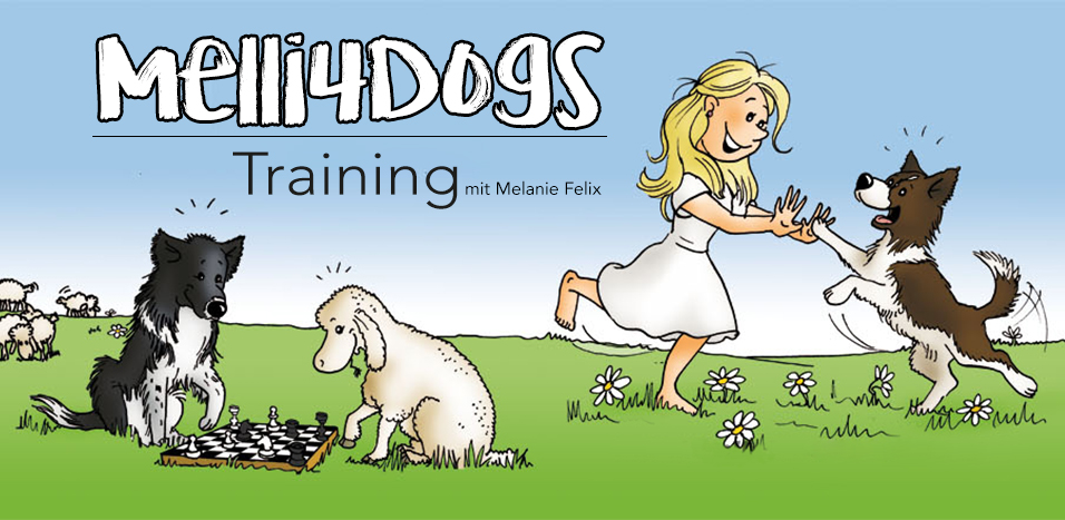 Logo Melli4Dogs Training